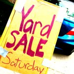 The Yard Sale is over. Thank you!
