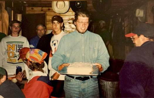 Birthday Cake at Beaubien Camp at Philmont Scout Ranch