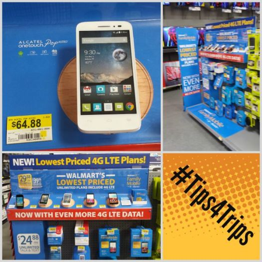#Tips4Trips Store Collage at Walmart