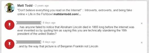 pinterest comment