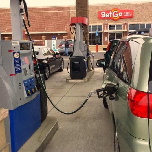 GetGo gas station in Carmel Indiana #WecomeToIndiana