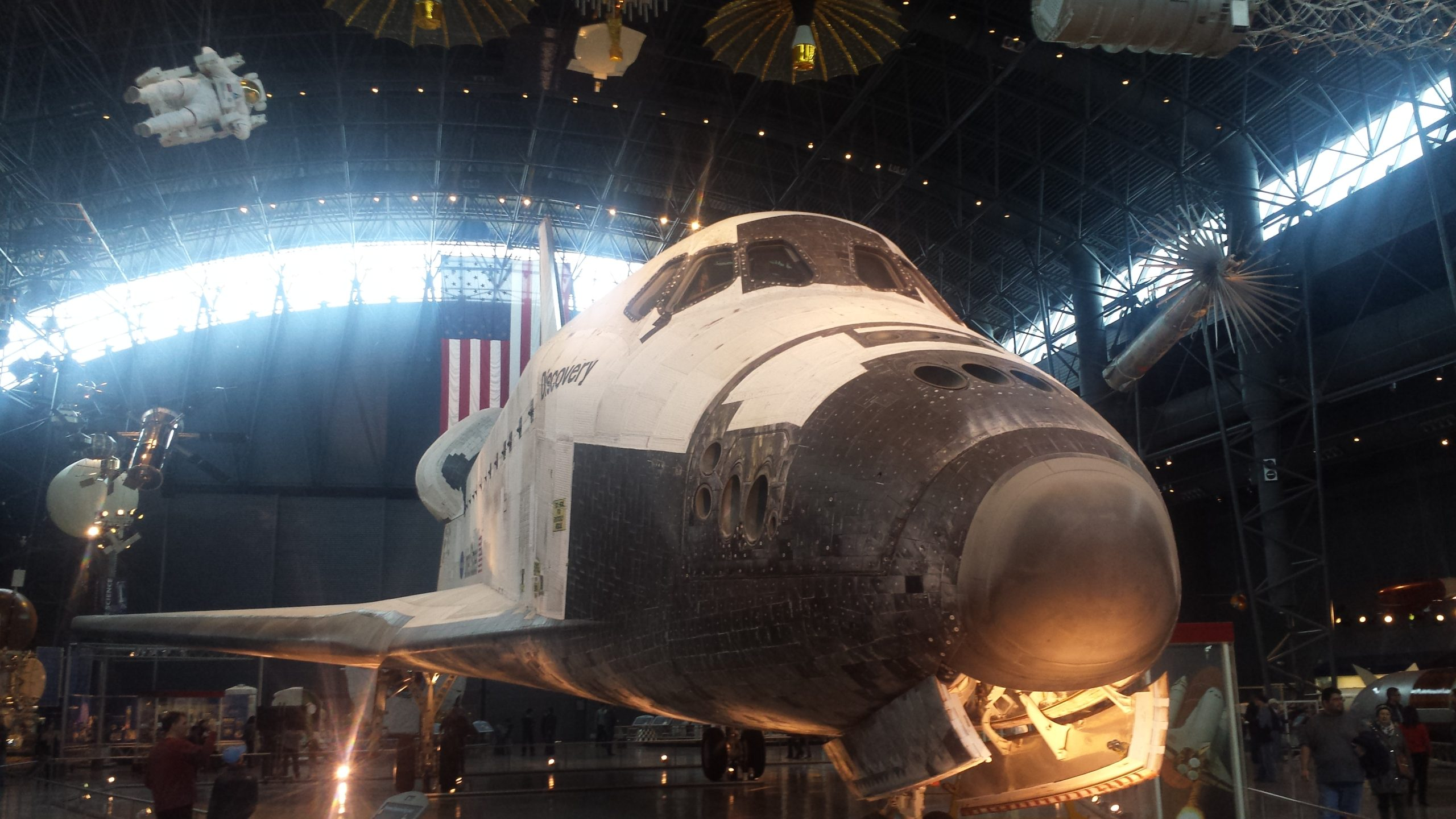 where did the space shuttle discovery go - photo #46