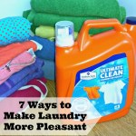 7 ways to make laundry more pleasant