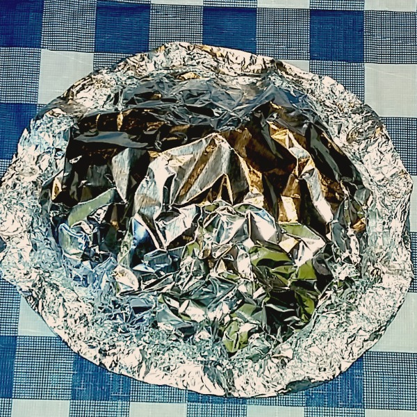Top with foil [AD] #KingOfFlavor