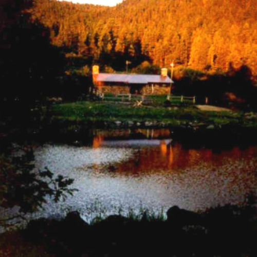 Crater Lake Cabin 1996