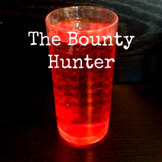 The Bounty Hunter - Star Wars Inspired Cocktails #MayTheFourthBeWithYou