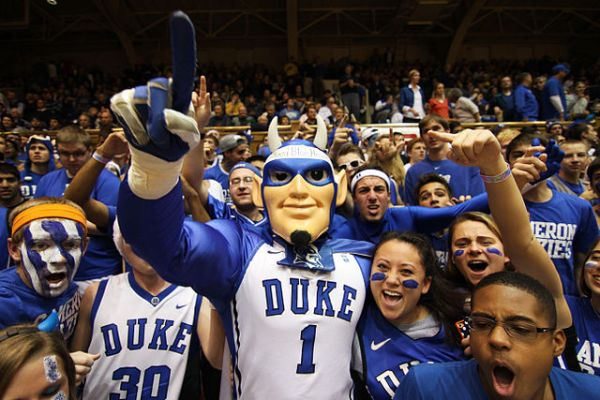 Student section - Cameron Crazies