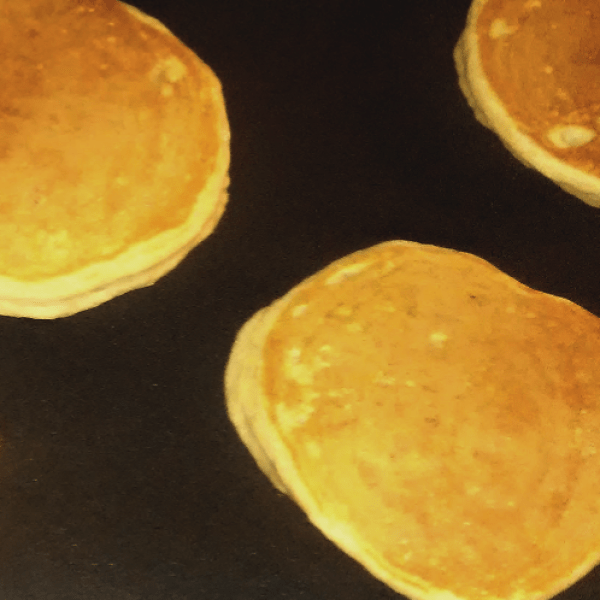Golden brown fluffy buttermilk pancakes #DunkinatGiantEagle #ad