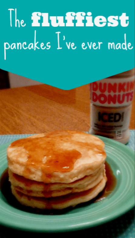 The fluffiest pancakes I've ever made #DunkinatGiantEagle #ad