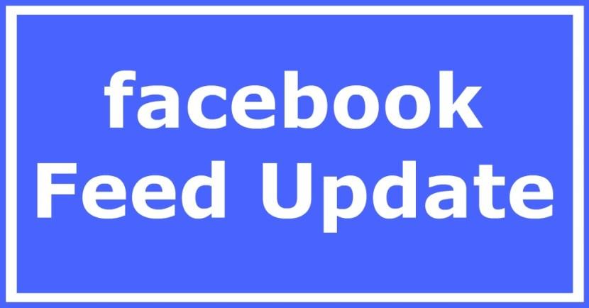 facebook Feed Update