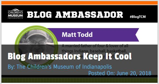 Matt Todd's Blog Ambassador post about hockey for The Children's Museum of Indianapolis #blogTCM