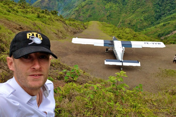 Just another crazy airstrip in Papua