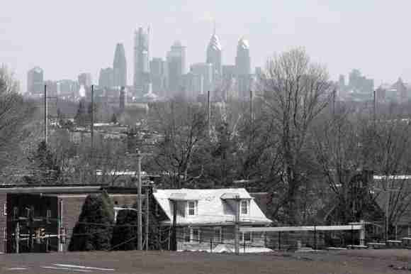 Philadelphia Skyline from Bonner