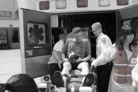 Patient Arrival at Hospital