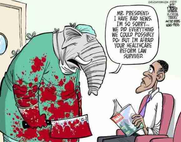 Healthcare Reform Cartoon