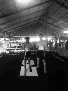 Muay Thai Training at Emerald Gym