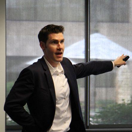 Matt pointing