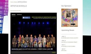 2015.04.20 - Winnipeg Jazz Festival Website 2