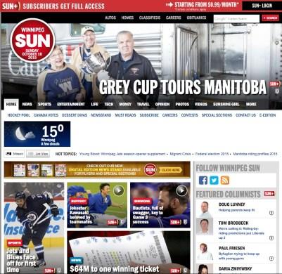 2015.10-18 - Winnipeg Sun 1