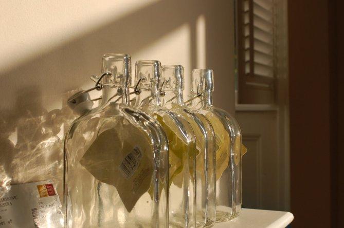 sloe gin bottles