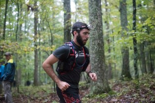 Mile 2? Trying to look unconcerned by the fact it was super humid and I was already damp. Photo Credit - Samantha Alyn Goresh