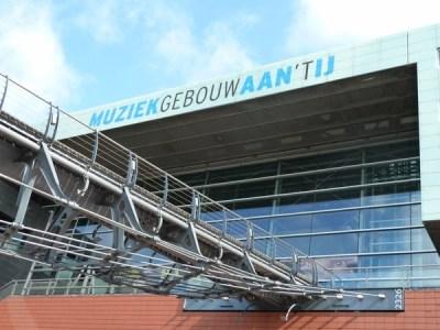 Zouthavenbrug to the Muziekgebouw Aan 't IJ