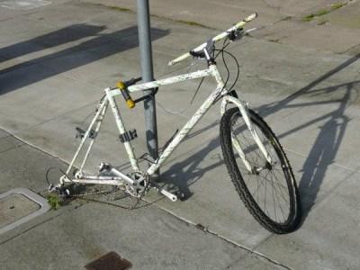 A neighborhood bicycle in ketosis
