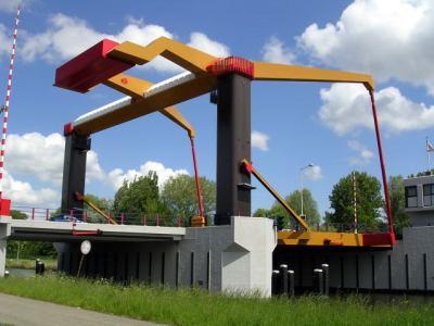 Noordhollands Kanal drawbridge