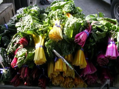 Chard at Ferry Plaza Farmers' Market