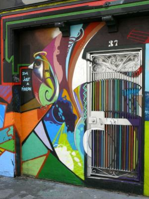 Tenderloin doorway