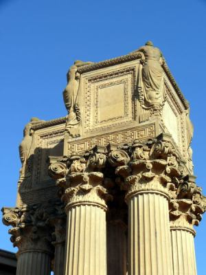 Palace of Fine Arts, detail
