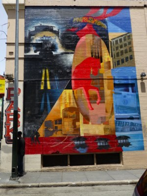 street art off Polk
