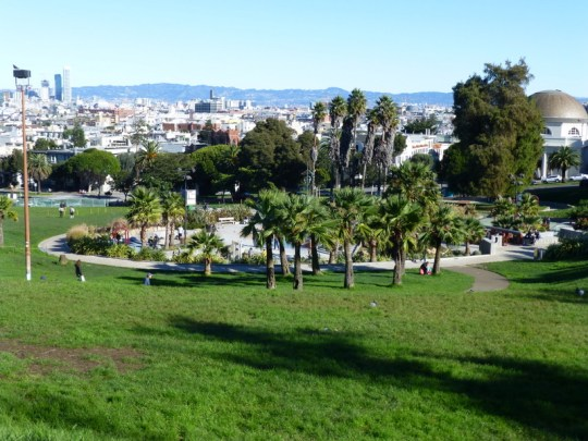 Dolores Park on Christmas Day 2014
