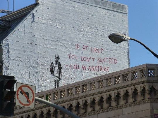 Banksy at Broadway and Columbus