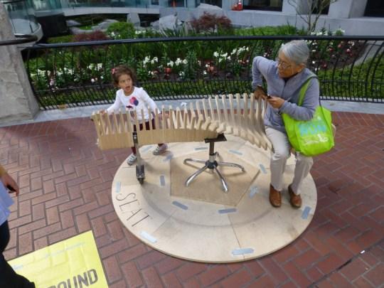 Market Street Prototype - Bench-Go-Round