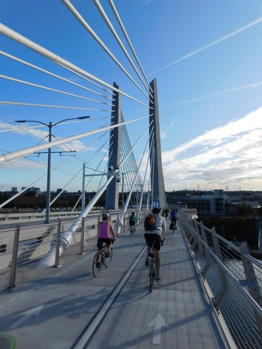 Bridge Pedal - Tilikum Crossing