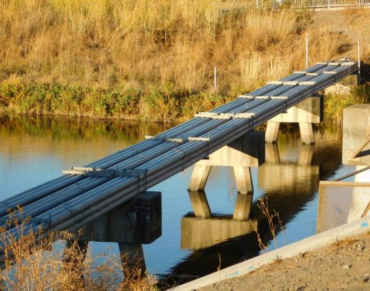 Petaluma's least Segway-friendly bridge