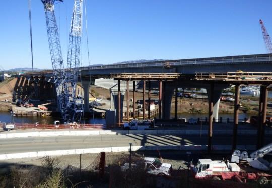 US-101 Bridge, Petaluma