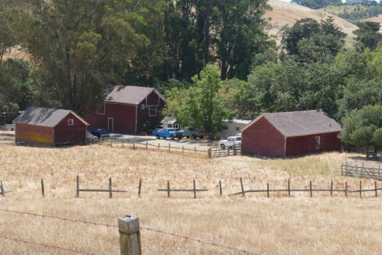 off the Petaluma-Marshall Road