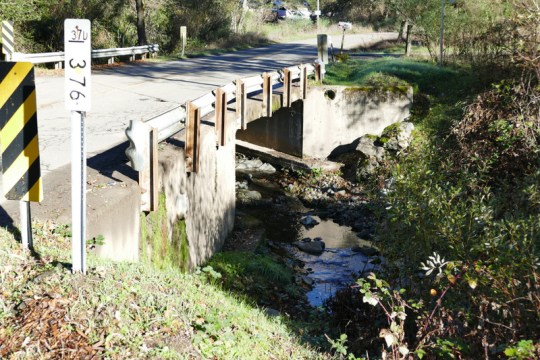 Russian River bridge at Tomki Road