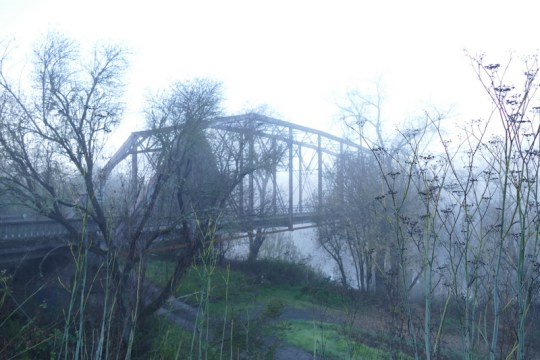 Russian River bridge at Wohler Road