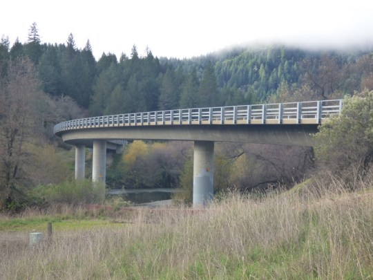Eel River Bridge on Eel River Road