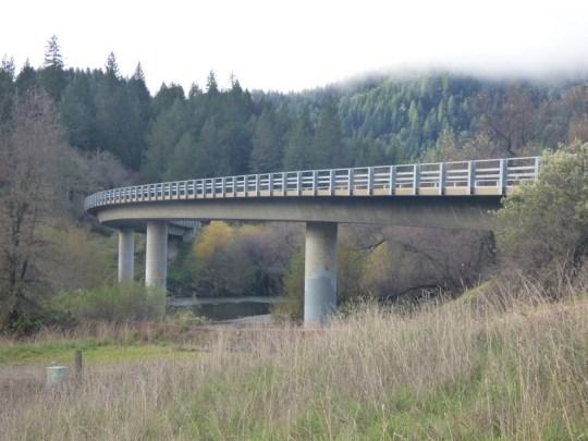 Eel River Bridge on Eel River Road