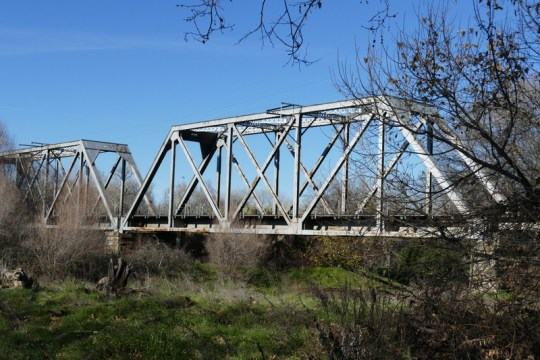 Tehama railroad Bridge