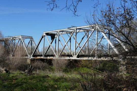 Tehama railroad Bridge