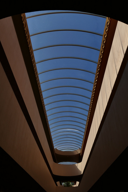 skylight - Marin County Civic Center