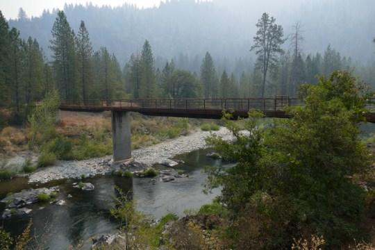 Bridge over the Sacramento near the Salt Creek Road bridge.