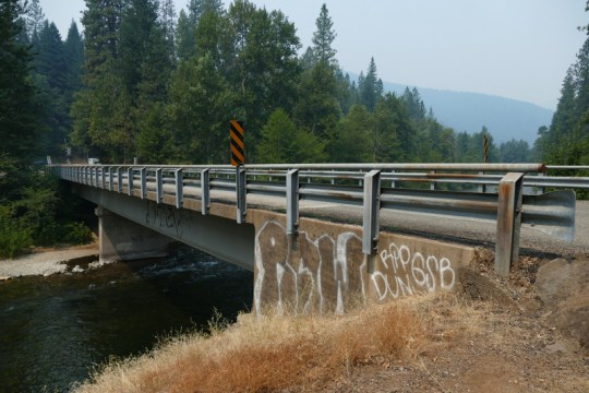 Bush Street Bridge in Dunsmuir