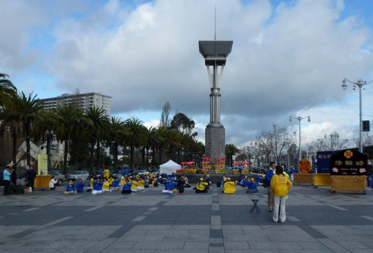 Falun Gong at the Ferry Building