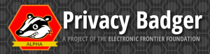 privacy badger EFF